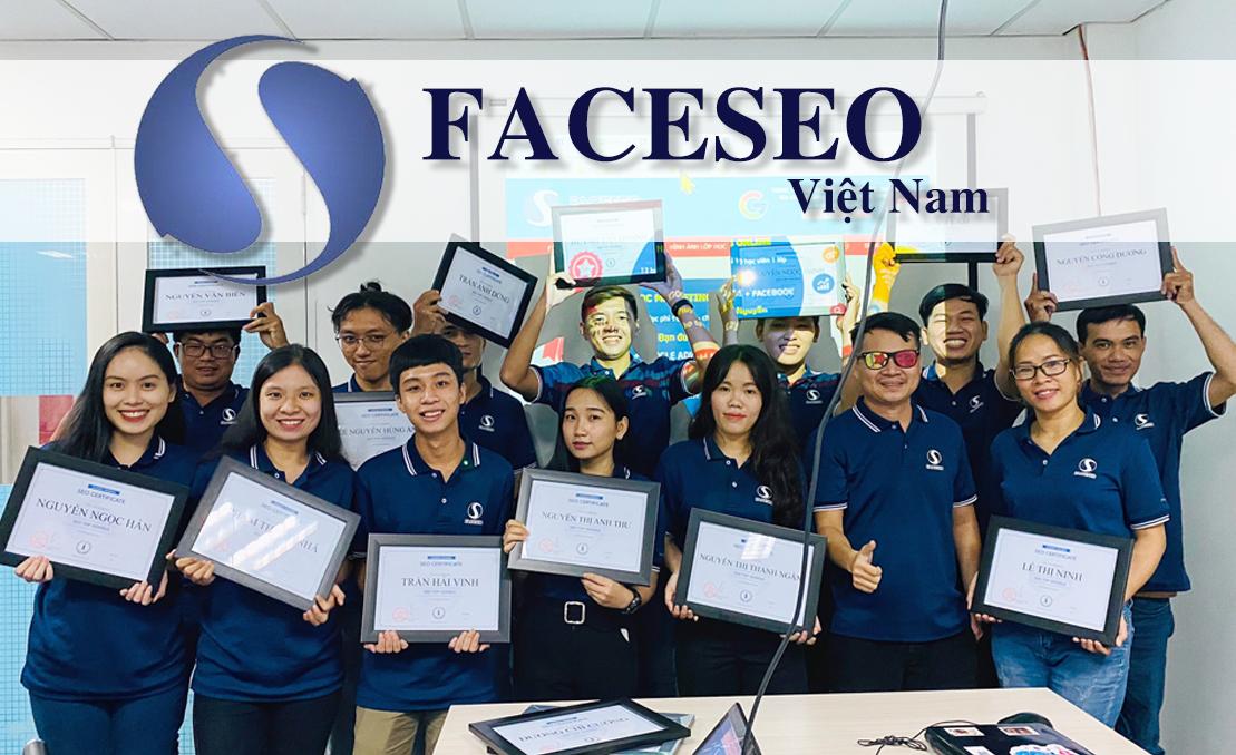 Trung tâm đào tạo SEO Faceseo cùng các học viên