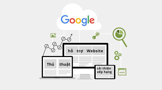 hỗ trợ web cải thiện xếp hạng trong dự án seo
